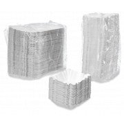 Pappschale beschichtet