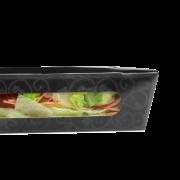 Salatschale mit Sichtfenster ELEGANCE