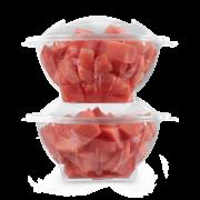 Salatbox aus PET mit Deckel