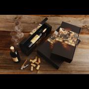 Flaschen-Geschenkkarton NOSTALGIE
