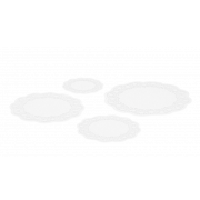 Tortenpapier rund