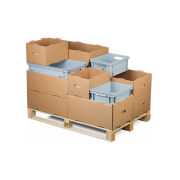 KLT-Behälter (Kleinladungsträger) aus PP, stapelbar