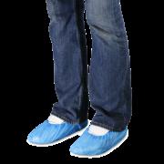 Einweg-Schuhüberzieher blau