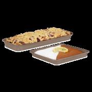 Kuchen-Backform rechteckig, flach