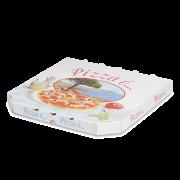 Pizza-Karton bedruckt