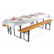 Tischtuchrolle aus Papier