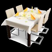 Tischtuchrolle reissfest Dunicel®