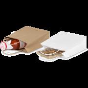 Tragetasche aus Kraftpapier mit gedrehter Kordel